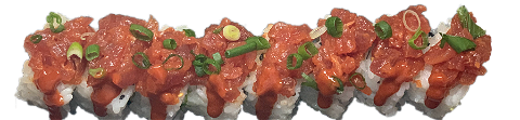 Foto Spicy tuna tartaar roll